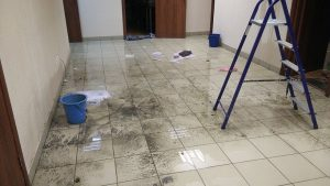 Уборка после потопа в Минске и РБ